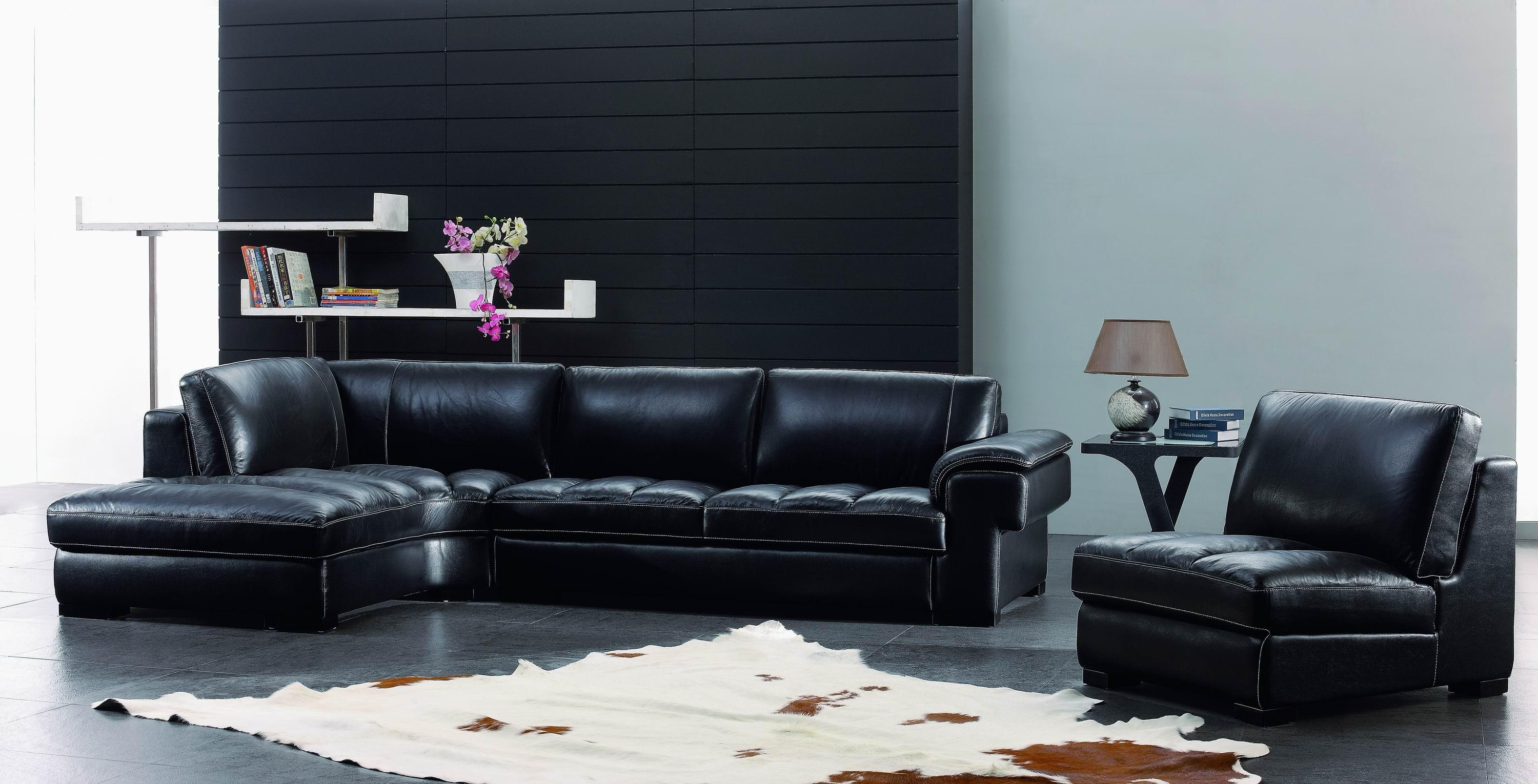 cheap table room livings sets black furniture set leather modern gallery asl living
